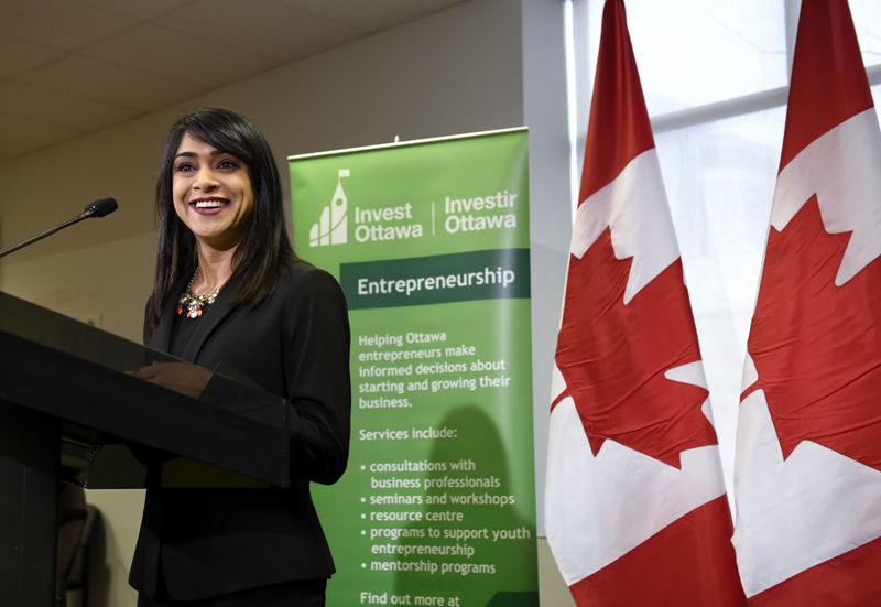 Federal Government Announces Improvements to Small Business Financing at Invest Ottawa