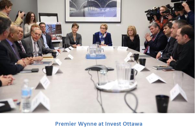 Premier Wynne at Invest Ottawa