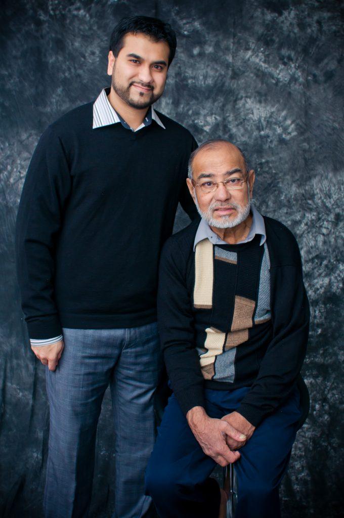 Owais Khan, and his passionate father Sadat Khan: driven to bring traditional samosas to Ottawa